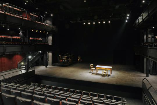 Dorfman Theatre Stage photo by Philip Vile