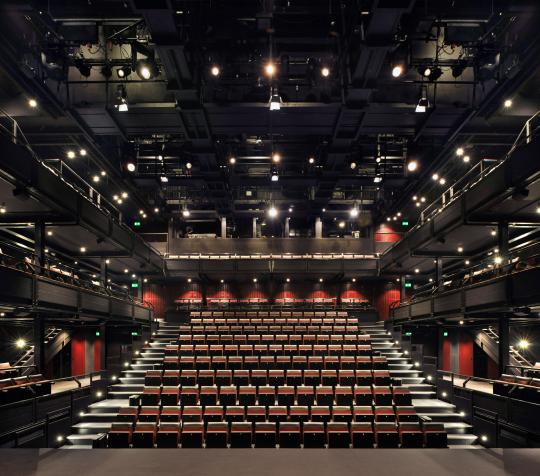 Dorfman Theatre photo by Philip Vile
